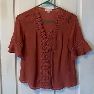 Rust Blouse